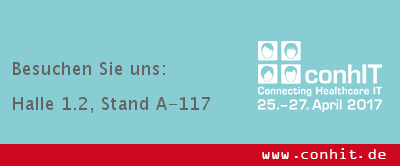Messe Conhit in Berlin vom 25. bis 27. April 2017
