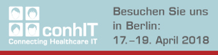 Messe conhit in Berling vom 17. bis 19. April 2018